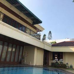 JUAL Rumah Ancol Timur luas 900 m² Full Furnished ada Pool