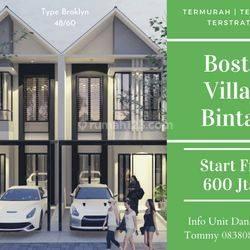 Cluster Indeen Murah 600Jtaan Boston Village Bintaro