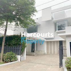 Rumah Modern Besar Design Minimalis Area Metro Pondok Indah
