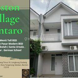 Cluster Indeen 2 Lantai Termurah Dekat Bsd 600 Jutaan Boston Village Bintaro