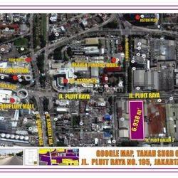 Tanah Strategis (Free Bangunan 2 Lt) di Jl. Pluit Raya, Jakarta