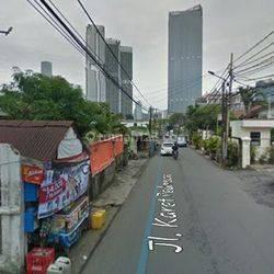 Rumah Tua hitung Tanah di Jl. Karet Pedurenan, Karet Kuningan, Jakarta Selatan, Cocok untuk Kost-kosant