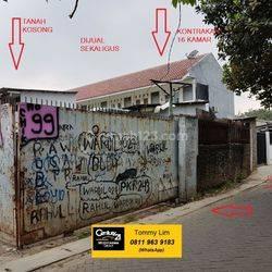Tanah Berikut Workshop dan Kontrakan 16 Kamar (Terisi semua), Dekat perumahan Graha Raya, Akses jalan 2 mobil. Harga NEGO