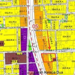 Tanah Strategis Zona Campuran di Jl. Panjang Arteri Kelapa Dua, Kebon Jeruk