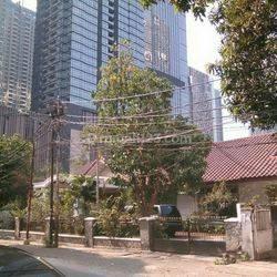 Tanah Strategis bonus Rumah di kawasan SCBD, Jakarta Selatan