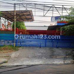 Tanah di Jalan Raya. Jl. Kemanggisan Utama Raya. Palmerah, Jakarta Barat