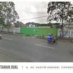 Kavling - Jl. KH. Hasyim Ashari -Cipondoh