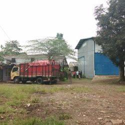Tanah Parung Bogor plus GUdang pinggir jalan Propinsi