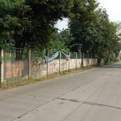 Kavling murah komersial pinggir jalan rawakalong, cocok untuk perumahan, gudang bentuk tanah kotak