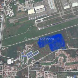 tanah / lahan bandara soetta, harga murah ,posisi strategis