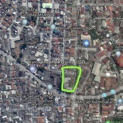 Gudang lama dihitung tanah,Strategis dan Murah di Plumpang,Jakarta Utara