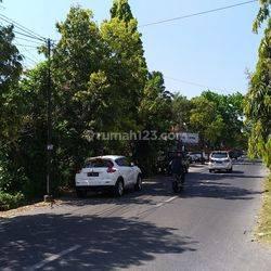 Tanah 1100m2 (11are) nempel Restaurant Gosha Renon di Jalan Utama Tukad Gangga Renon Denpasar Selatan Denpasar Bali