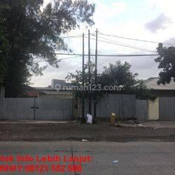 Tanah Gudang Tua 15 Jt/m2 Plumpang Semper Jakarta Utara