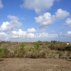 Tanah / Amazing and perfect Land with ocean and mountain views at Ungasan GWK Bali