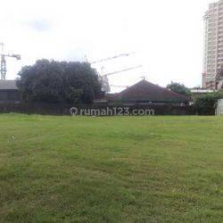 Tanah Jalan Senopati Raya luas 3000m MURAH dekat SCBD Sudirman ijin Gedung