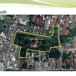 Tanah dijalan utama dibawah NJOP Kebagusan Raya Jakarta Selatan