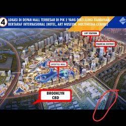 Kavling komersial lokasi strategis di Kompleks Manhattan Signature Pantai Indah Kapuk 2 (DRS)