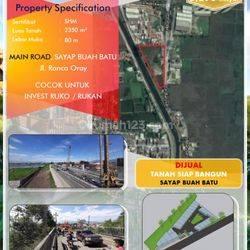 Tanah Zona Kuning Cocok untuk perumahan, ruko, rukan, home industry Daerah Ciwastra, Jalan Ranca Oray, Bandung, Bandung Timur, Jawa barat