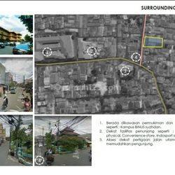 Tanah di Kemanggisan , LT. 1805m2 , Dekat Kampus Binus , Hrg : 500 jt/thn , Lokasi Strategis , Jakarta Barat