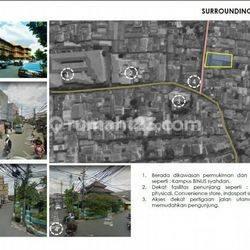 Tanah di Kemanggisan , LT. 1805m2 , Dekat Kampus Binus , Hrg : 500 jt/thn , Lokasi Strategis , Jakarta Barat, Kemanggisan, Jakarta Barat
