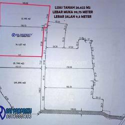 Tanah Industri 2,6 Hektar Dekat Tol Tangerang Kota Gatot Subroto 2,8 Juta/m2