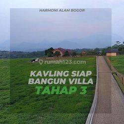 Tanah Murah di Bogor, Berada di ketinggian diatas 400 mdpl, Cocok Bangun Villa