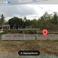Tanah Strategis Tepi Jalan Raya Brosot Wates