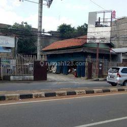 Kavling lokasi oke,pinggir jalan di Ciputat Tangerang