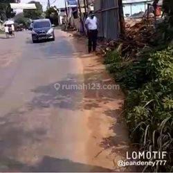 tanah di jalan raya kutruk, tigaraksa - tangerang