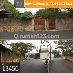 Kavling+Gudang Jl. Tanjung Pura, Jakarta Barat, 24x23m, SHM