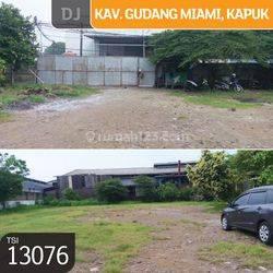 Kavling Gudang Miami, Kapuk, Jakarta Utara, 2.373 m², SHM