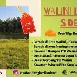 Tanah kavling Bandung Barat Tepi Danau Wisata Cikalong Wetan