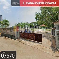 Tanah Jl. Danau Sunter Barat Sunter, Jakarta Utara
