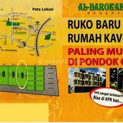 Kavling Siap Bangun, Dalam Cluster dan Lokasi Strategis @Cluster Al Barokah, Pondok Cabe