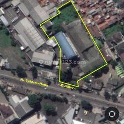Tanah dan Bangunan Zona Komersil di Mainroad Sukarno Hatta
