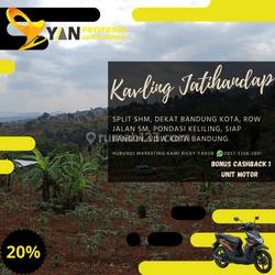 PROMO BONUS MOTOR TANAH KAVLING JATIHANDAP HANYA 2JTAN/M2