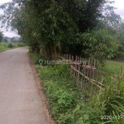 Tanah 11800 m2 dipinggir jalan rancakole arjasari Bandung 3,3 M