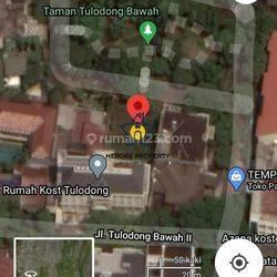 Harga Miring Tanah Kosong View Taman di Tulodong SCBD Cocok Untuk Rumah Mewah