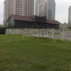 Tanah Komersial Jalan Mega Kuningan Murah 65 juta/m ijin Gedung Apartemen 16 Lantai