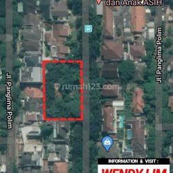 TANAH at Jl. PANGLIMA POLIM (PANGPOL) KEBAYORAN BARU 2300 SQM (FOR SELL)