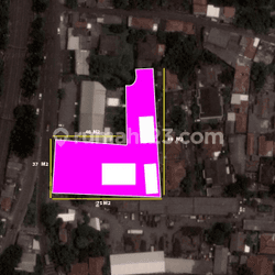 Tanah komersial zona ungu di lenteng agung