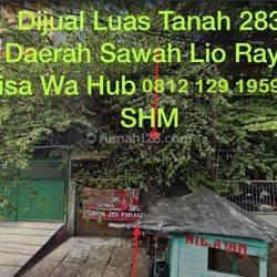 Tanah ( hadap timur ) Jl. Sawah Lio Jembatan Lima, Jakarta Barat