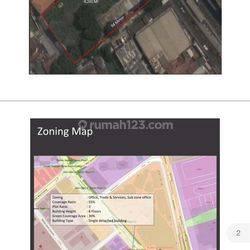 Sebidang Tanah di Senen Raya Zona Komersial Cocok Untuk Berbagai Usaha