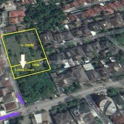 Tanah luas strategis di area Surya sumantri pasteur