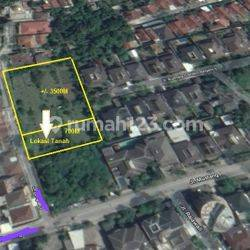 Tanah luas kotak strategis area Surya sumantri pasteur
