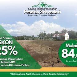 Kawasan Sunrise Bekasi, Kavling Tanah Pesona Sriwedari, Tambun Utara; Diskon 25%
