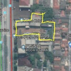 Tanah Strategis Kebon Jeruk LT 2200 m2