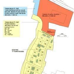 Tanah + ada bangunan rumah 17 unit di Jervois Park, TB.Simatupang