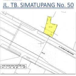 TANAH DI JL. TB. SIMATUPANG No.50, JAKARTA SELATAN