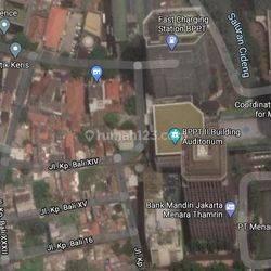 Tanah di Jl. Kp. Bali. Pusat Kota Jakarta.